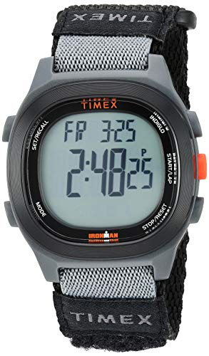 - Timex Men's TW5M19300 Ironman Transit Full-Size Black/Red Fast Wrap Watch