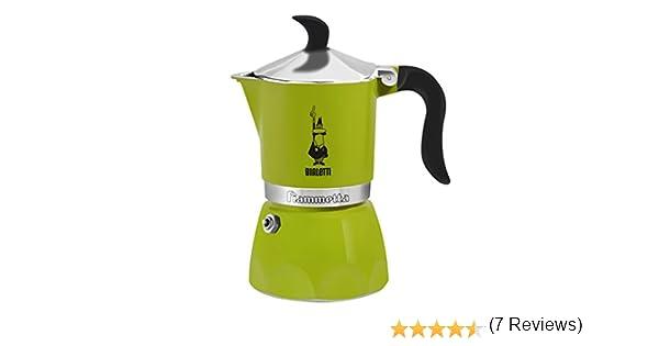 Bialetti Fiammetta Independiente - Cafetera (Independiente, Cafetera turca, De café molido, Verde): Amazon.es: Hogar