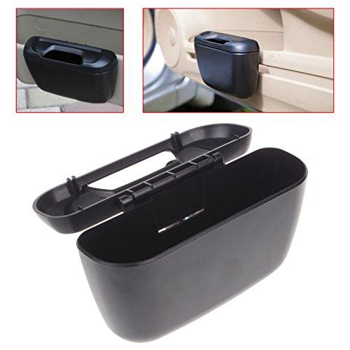 Mini Overhead Door (Portable Mini Vehicle Auto Car Garbage Dust Case Holder Box Bin Trash Rubbish Can Black)