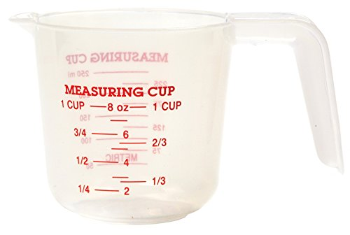 Norpro 1-Cup Plastic Measuring Cup - 1 Cup Measure Shopping Results