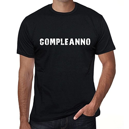 One in the City Compleanno Mens T Shirt Black Birthday Gift 00551