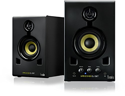 Hercules 4780691 XPS 2.0 60 DJ-Lautsprechersystem (60 Watt)