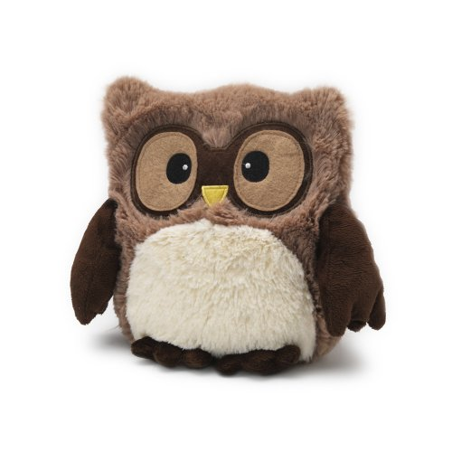 Intelex Fully Microwaveable Hooty Owl Brown (Microwave Warmer)