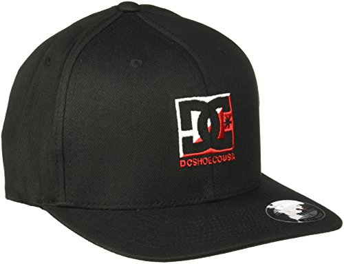 DC Men's Crosscloud Hat, Black, (Dc Wool Cap)