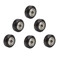 CCTREE 3D Printer POM V Slot Wheel Plastic Pulley Linear Bearing For Creality CR-7,CR-8,CR-10,CR10S,Ender(Pack of 6) from CCTREE
