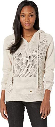 Prana Lightweight Sweater - prAna Women's Sugar Beach Sweater Pebble Grey X-Small