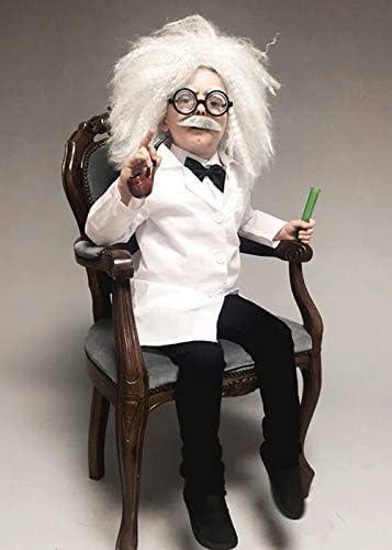 Disfraz de científico Loco del Estilo de Einstein del tamaño de ...