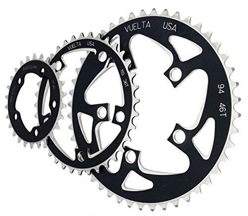Vuelta se Flat 110mm/BCD 42T Chainring, Black