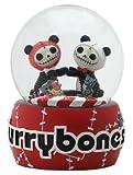 SS-Y-7988 Furry Bones Pandie Panda Love Water Glitter Snow Globe