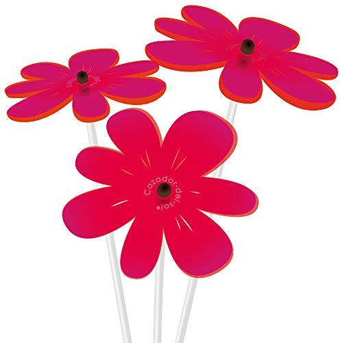 - Cazador-del-sol - Suncatcher - Mini Sunflower Bouquet - Red