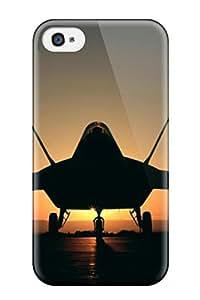 Hot Design Premium GGMdBdF7469IKaEb Tpu Case Cover Iphone 4/4s Protection Case(aviation Army)