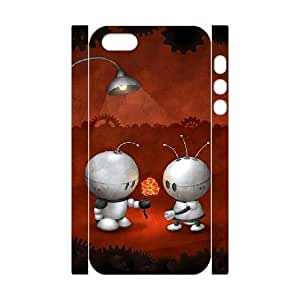 WEUKK Robot iPhone 5,5S,5G 3D cases, diy case for iPhone 5,5S,5G Robot, diy Robot phone case