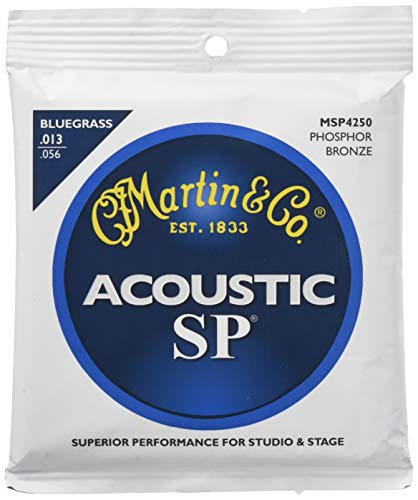 C.F. Martin & Co. MSP4250 Phosphor Bronze Acoustic Guitar Strings, Medium