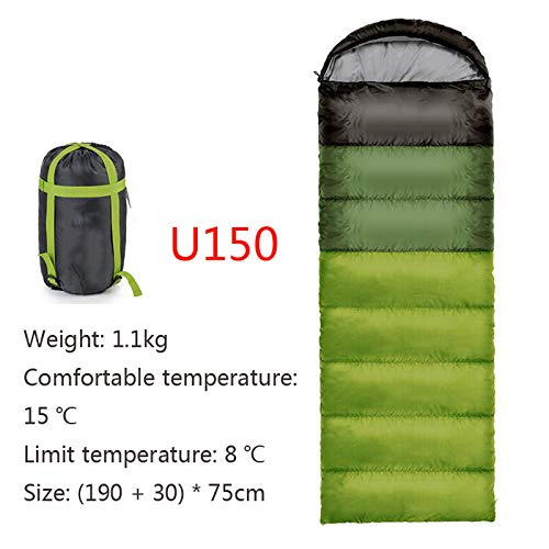 Ultralight Schlafsack Erwachsene Outdoor Camping Umschlag Schlafsack Winter Baumwolle Wandern Tourist Camping Ausrüstung