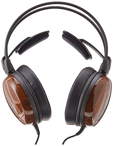 Audio Technica ATH W1000Z Audiophile Closed Back Dynamic Wooden High Resolution Audio Headphones