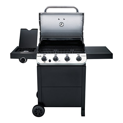 Char-Broil Performance 475 4-Burner Cart Liquid Propane Gas Grill- Stainless