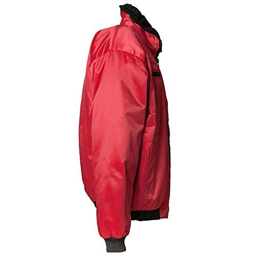 Cazadora Rojo Tipo Invierno Bomber De Planam dxq1XFd