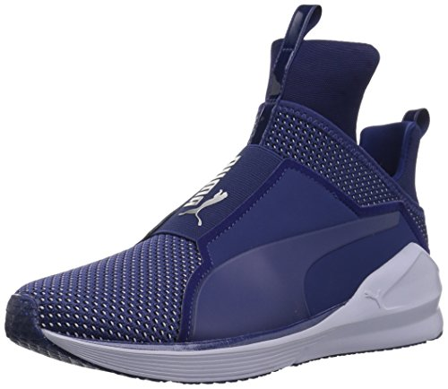 PUMA Women's Fierce Velvet Rope Wn Sneaker, Depths-Icelandic Blue, 9 M US ()