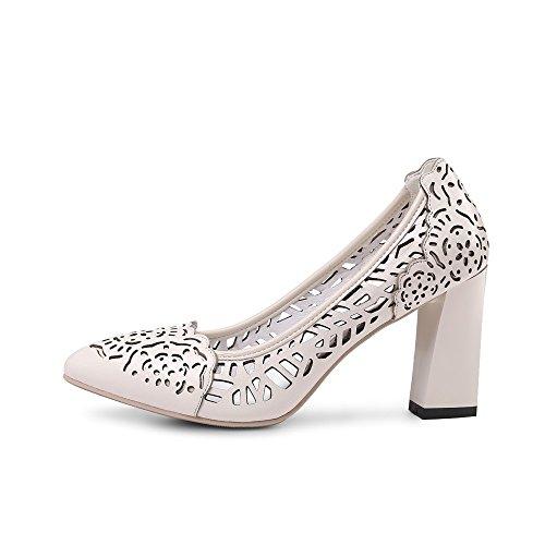 Nine SevenPump Shoes - Sandalias con cuña mujer blanco