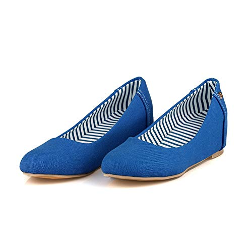 Womens Shoes Solid APL10394 Blue Hiking Pumps Comfort Backpacking BalaMasa Urethane SdaHcSZ