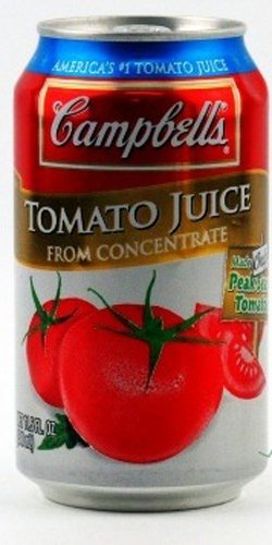 Campbells Tomato Juice, 11.5000-Ounces (Pack Of 24)