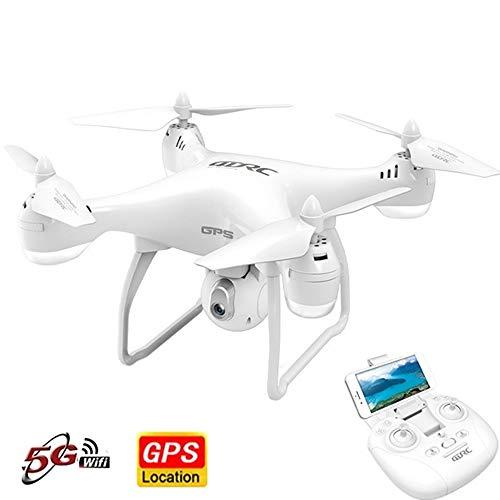 SMUOO GPS Drone, Dual GPS Return Home, 5G WiFi FPV, Quadcopter con cámara de Gran Angular Ajustable: Sígueme, Altitude…