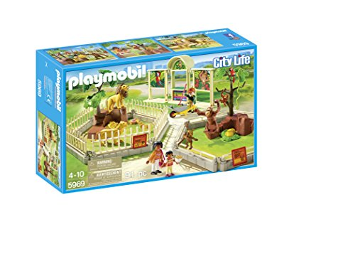 PLAYMOBIL City Zoo Playset
