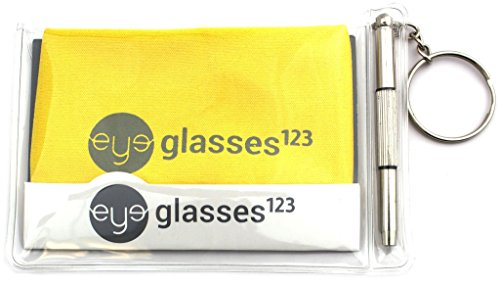 Peeper Keepers Eyeglass Retainer Chain Holder (Black, 3 pack)