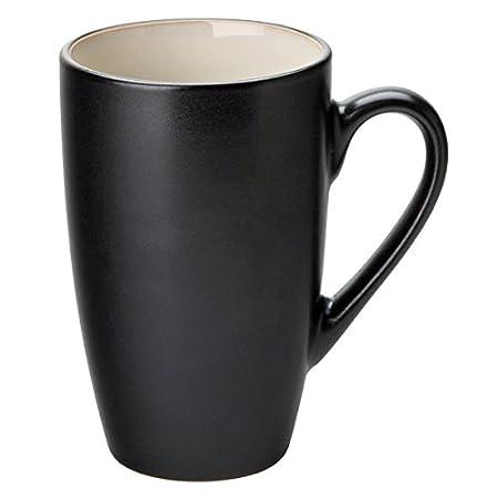 Coffee Utopia Porcelain With Black 320ml Mug Almond Colour Barista Interior Cup CdoeQxBrWE