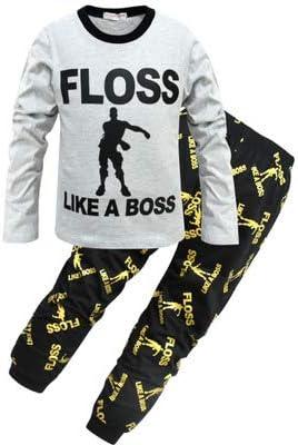 Pijama para Chicos Floss Like a Boss Pijamas Largos de algodón ...