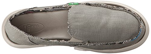 Sanuk Women's Donna Hemp Flat Olive Grey brand new unisex for sale with credit card cheap price cheap wide range of outlet explore 7oRuZs