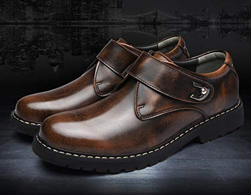 Nero Mocassini 40 Brown Uomo Style EU Nero Punk qgTpIwAW
