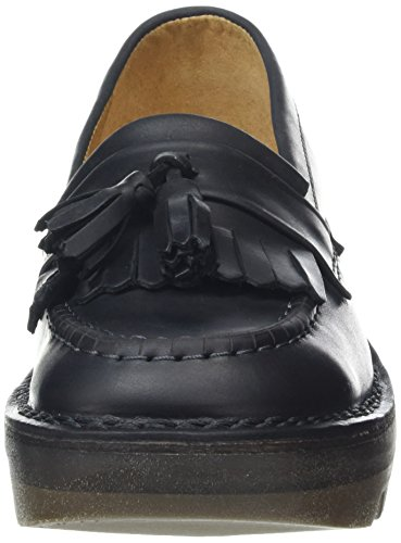 Mocasines Mujer Juno para London FLY Negro negro 7qPw1IET