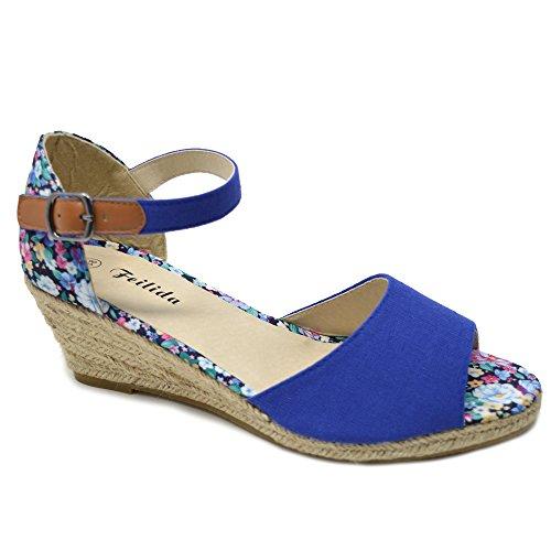 Donna Blue Sandali Xelay Sandali Xelay Blue Donna Donna Sandali Xelay qvxd6zCqw