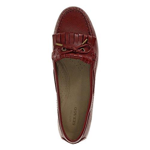 Sebago Oxford Kiltie Women's Dark Leather Red Meriden ffg1wUq4