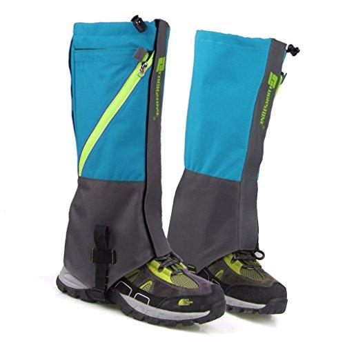 Kotiger 1coppia di coperture Snow Sand Legging ghette impermeabili per outdoor trekking arrampicata