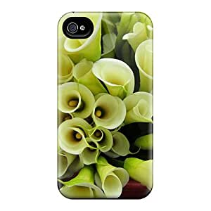 New Shockproof Protection Case Cover For Iphone 4/4s/ Zantedeschia Aethiopica Case Cover