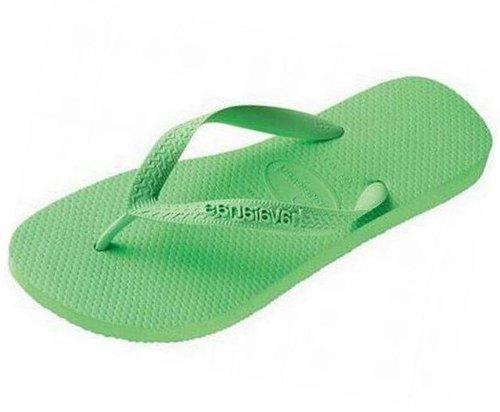 Zehentrenner 44 Flops - Flip Printemps Havaianas Vert Verde Grün Eu Sandalen Frühlings 43