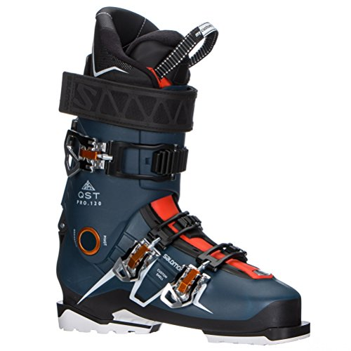 Salomon QST Pro 120 Ski Boots - 26.5/Petrol Blue-Black-Orange ()