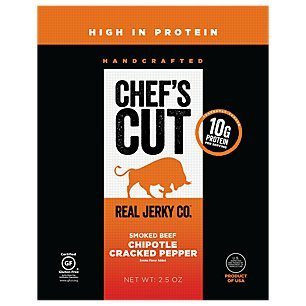 Chef's Cut Tender Real Steak Jerky, Chipotle Cracked Pepper, 2.5 Ounce