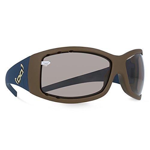 Gloryfy Unbreakable Eyewear G2Twice Eclypse Air TRF Lunettes de soleil GLORYFY, Blue/Brown, One Size