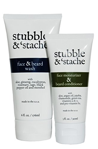 Stubble & 'Stache Beard Care Starter Kit by stubble & stache