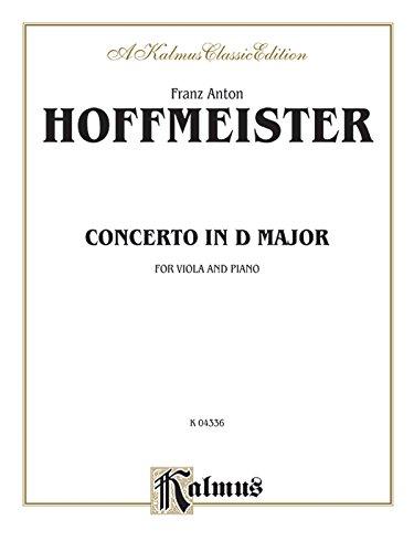 Viola Concerto in D Major (Kalmus Edition)