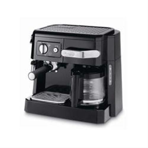 DeLonghi 132504008 Kombi-Kaffeemaschine 15 Bar, Ese/Filter Bco 410 Sw Espressoautomat