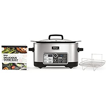 Ninja CS960 Cooking System with Auto-iQ, 6-Quart, Stainless Steel