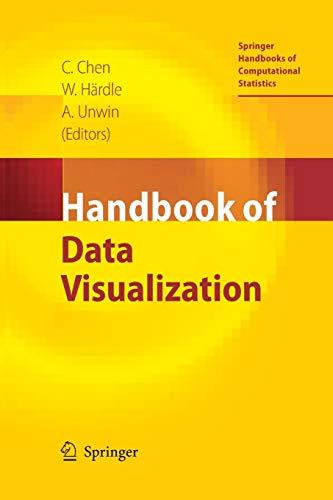 Springer Handbook - Handbook of Data Visualization (Springer Handbooks of Computational Statistics)