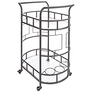 Silverwood Sinclair 2 Tier Serving Cart