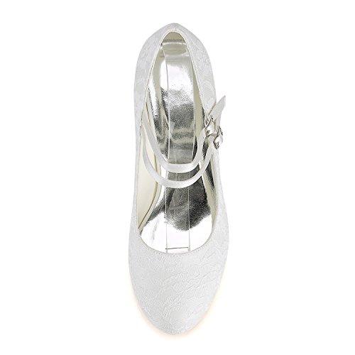 Chaussures Toe Round Mariage de Mary Chaussures Mariée Invitation Bridal Soie Mariage de en Jane Ivoire de Vintage Emily Beige Chaussures fw8Uxq
