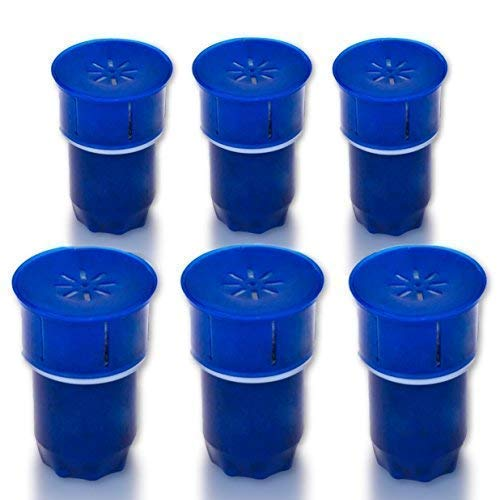 Chillswell 6 Pack BPA Free Carbon Water Filters