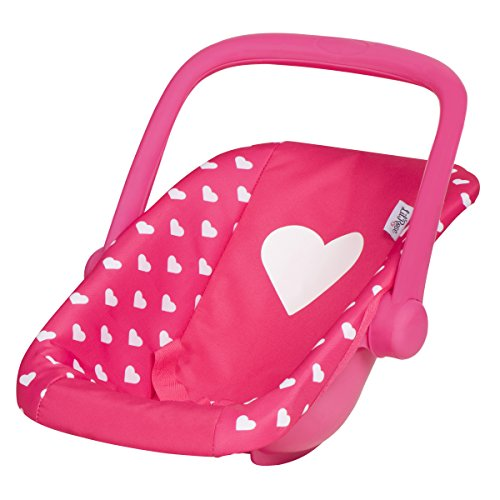 New My First Doll Car Seat Infant ADJUSTABLE CARRIER Converts From Rocking Bouncer